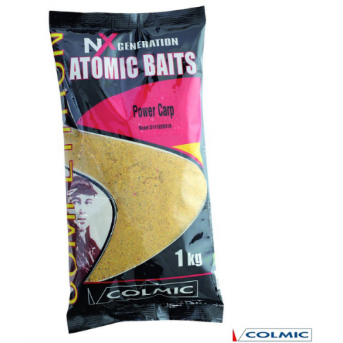 Colmic atomic baits power carp